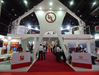 UL Exhibition Booth in Dubai