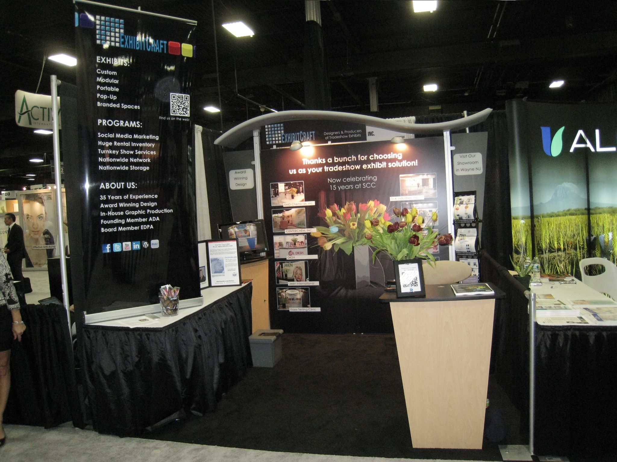 Exhibition Booth Supplier Sia : Suppliers day show