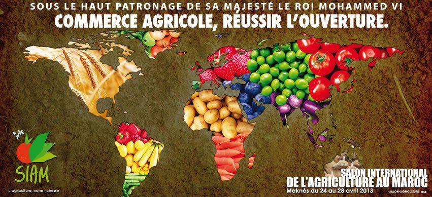 Siam salon international de l 39 agriculture au maroc 2019 - Salon internationale de l agriculture ...