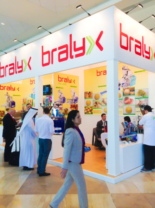 Modular Exhibition Stand Qatar : Agora dubai