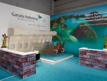 ITB Berlin 2014  formundraum for GARUDA Indonesia