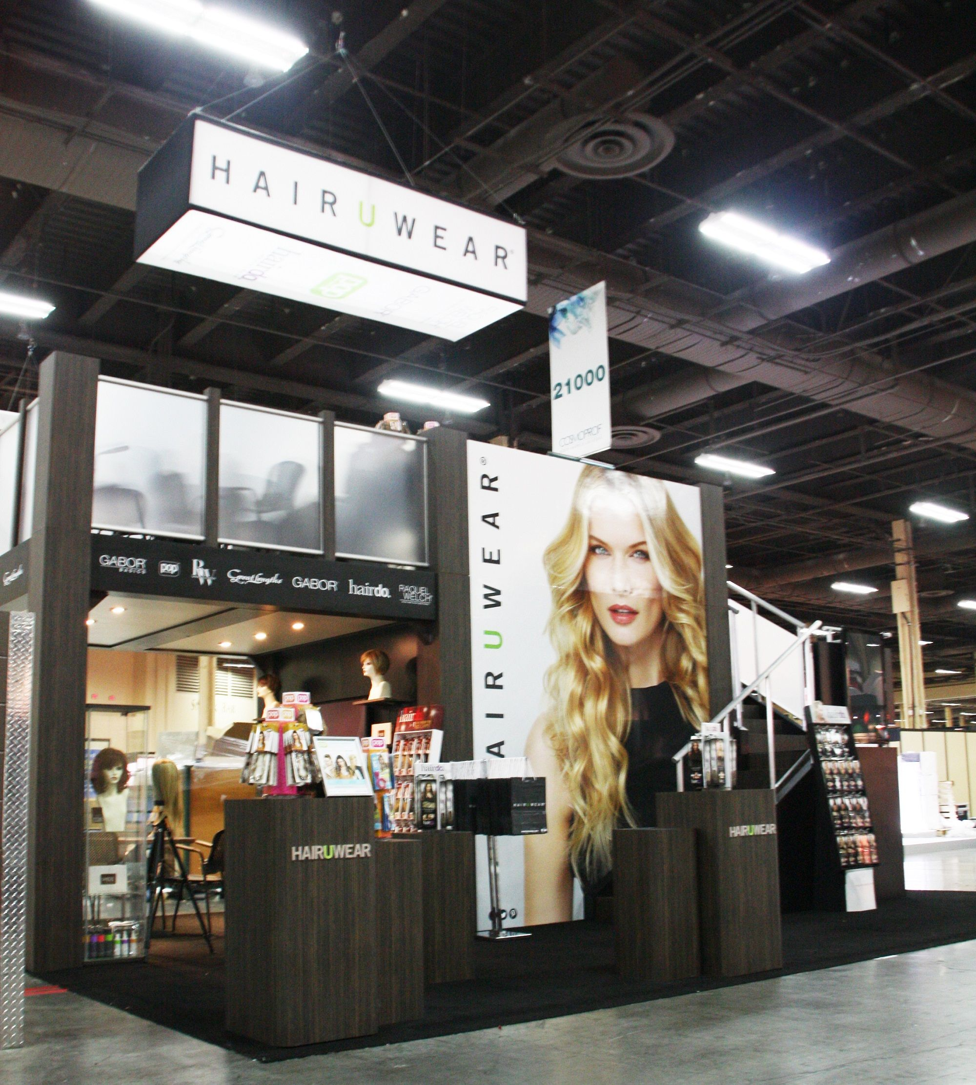 Hair Expo Stands : Cosmoprof las vegas hair u wear
