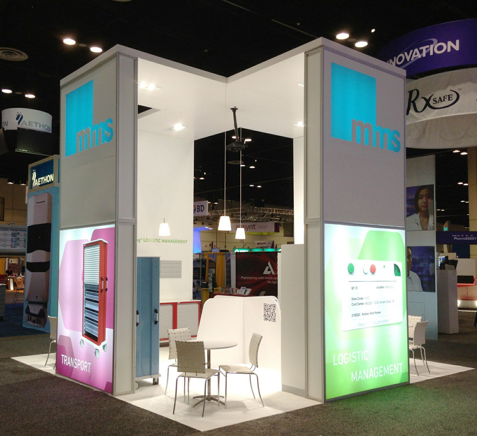 Exhibition Display System : The midyear orlando mms medical modular system