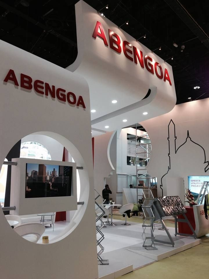 Abu Dhabi Exhibition Stand