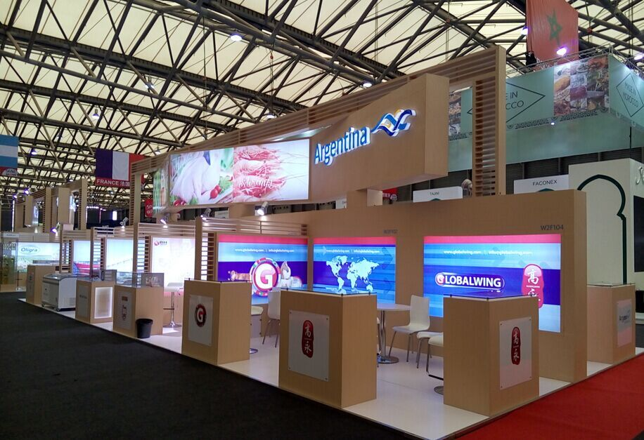 Argentina Country Pavilion Sial China Stand Builder Yimu Exhibition Services Seafood Companies Mail
