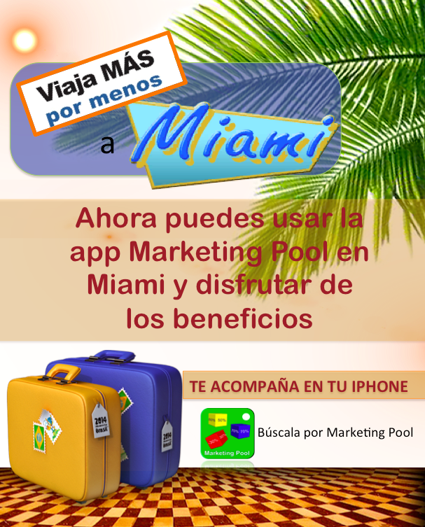 Marketing pool for Pool trade show 2015