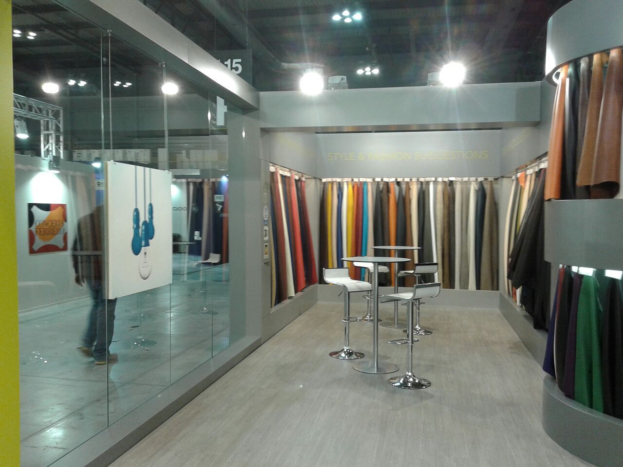 Exhibition Stand For Zara : Exhibition stand