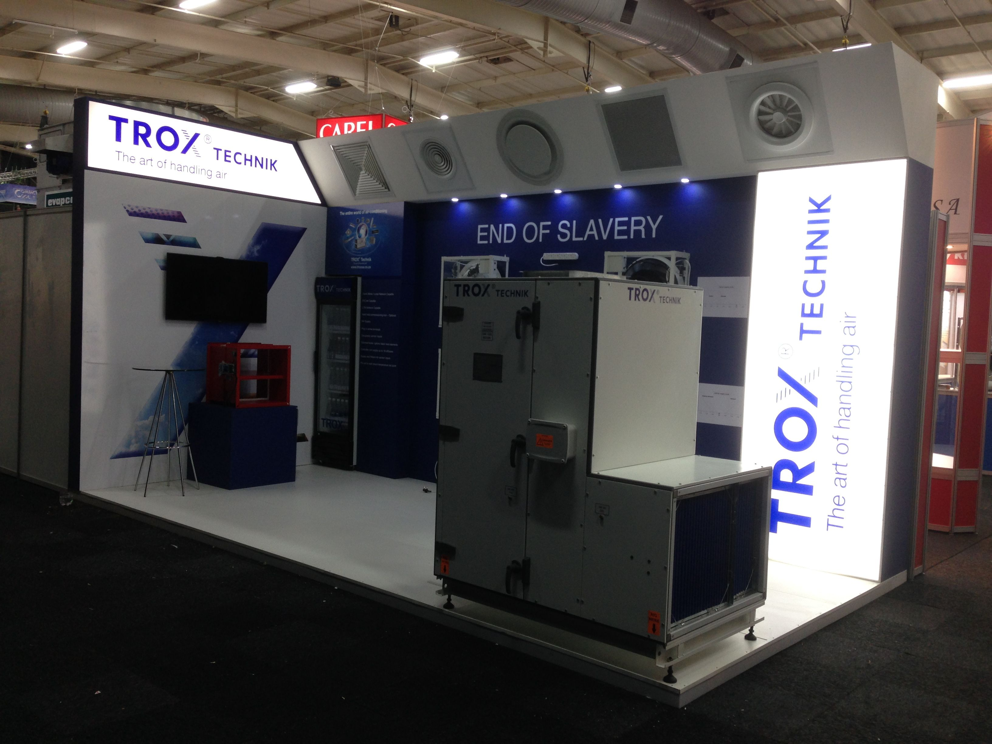 Exhibition Stand South Africa : Trox at frigair in south africa