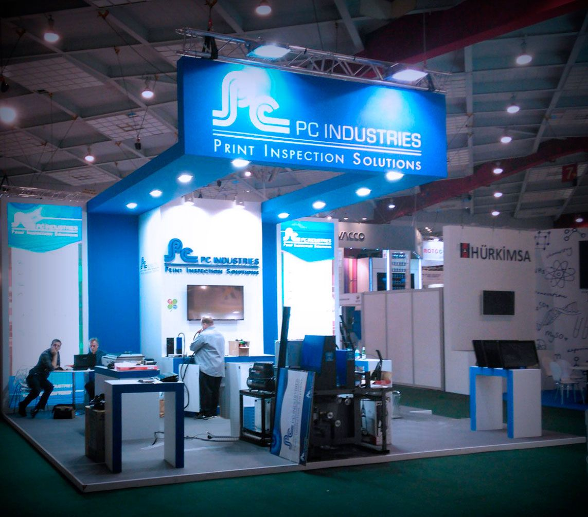 Stand Expo Europa : Grupo alc developed the stand project of exhibitor