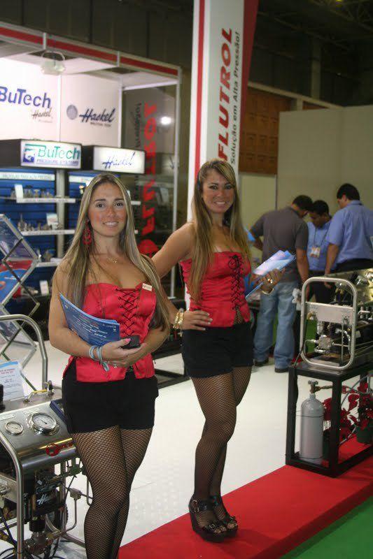 Exhibition Stand Hostess : Azafatas hostess