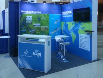Canal Panama Stand
