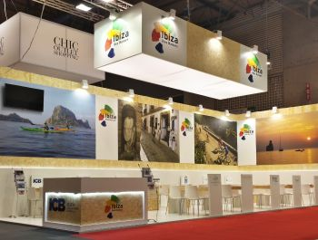 Stand Decor in IBTM World 2015