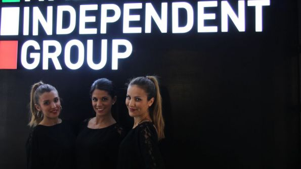 Hostess per i Cocktail Party di Italia Independent