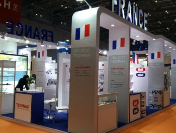Stand builder to France Pavilion