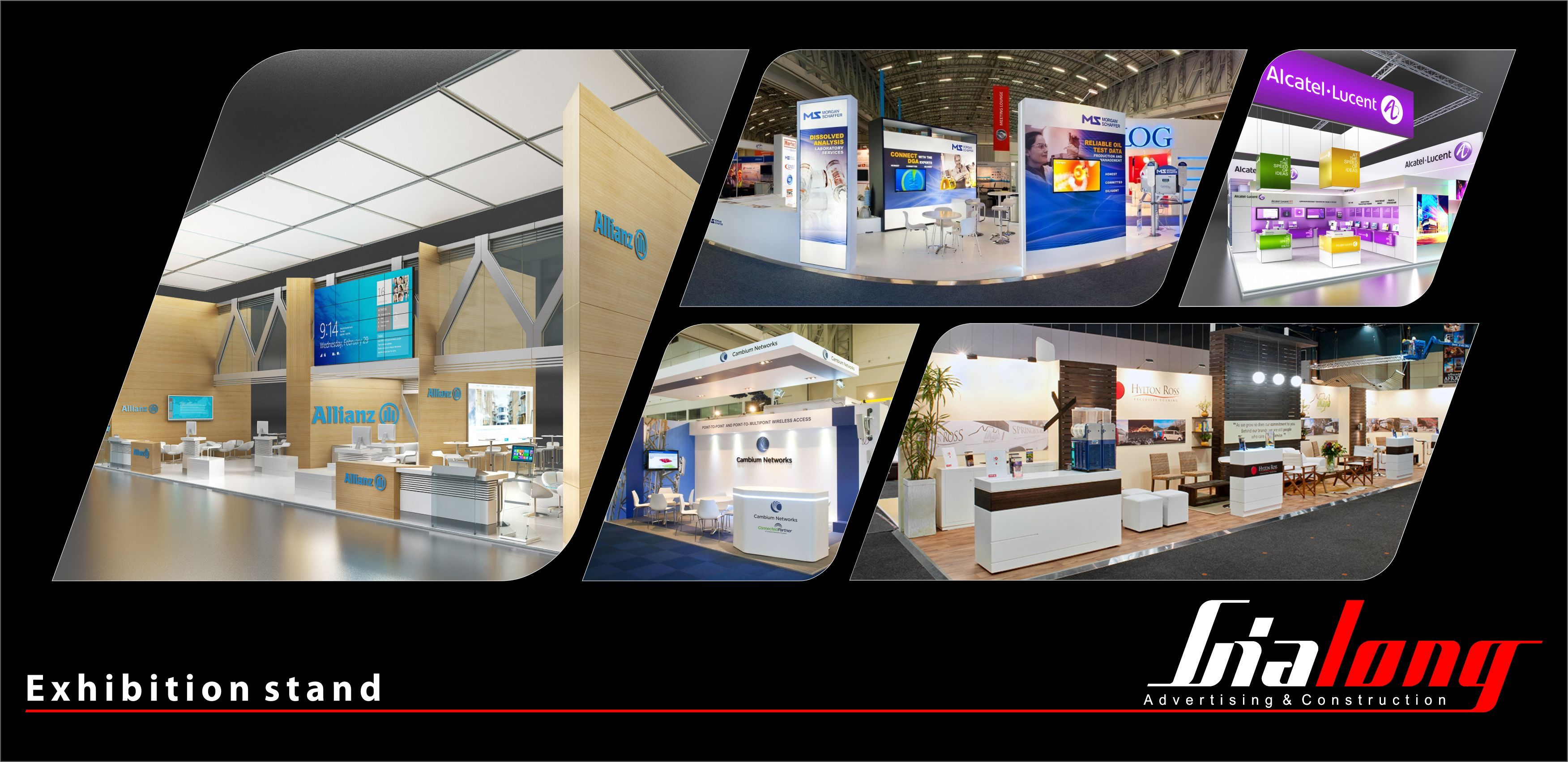 Exhibition Booth Displays : Gia long exhibition stand contractor