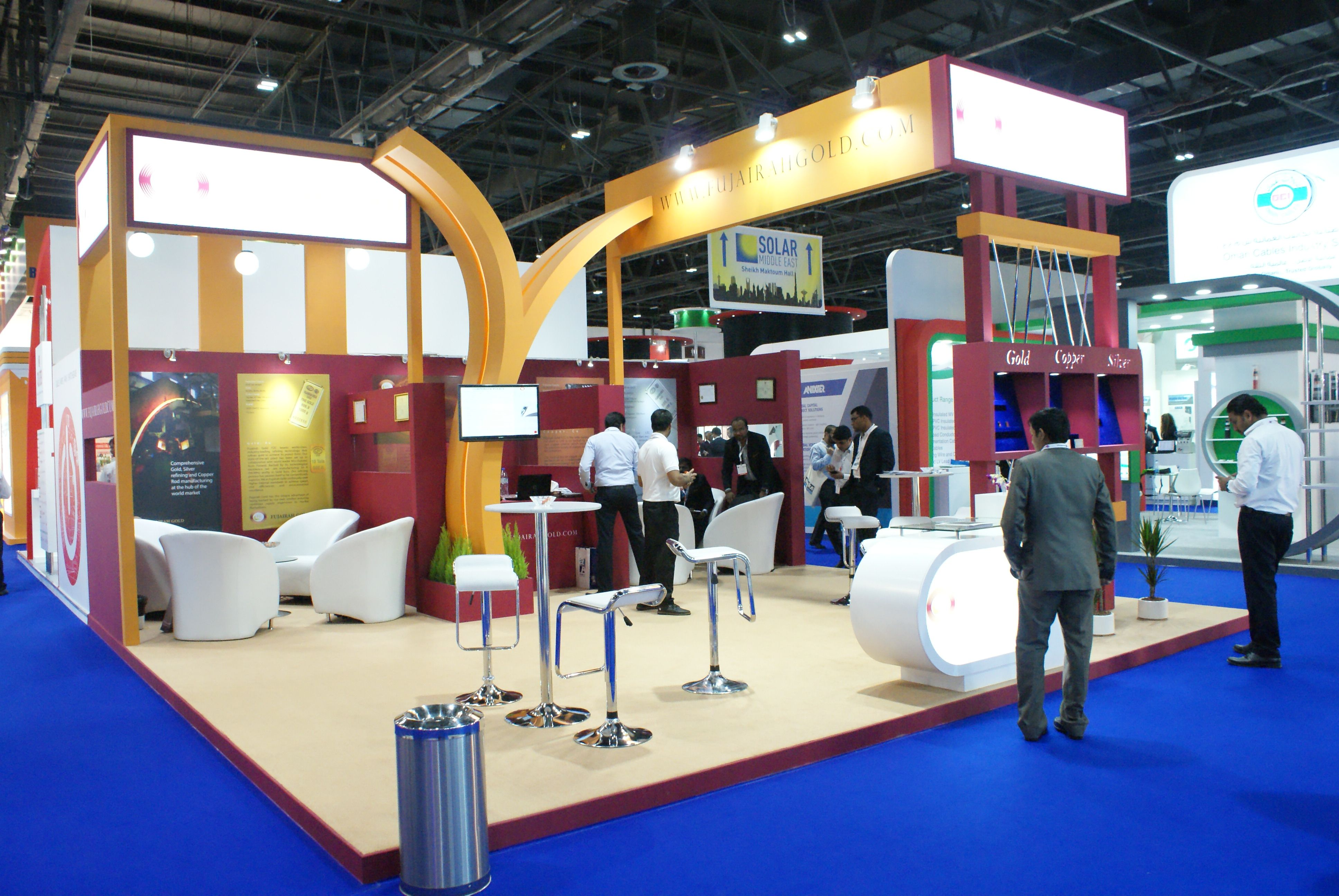 Exhibition Stands And Events : Photo of stands framelez events and exhibitions dubai