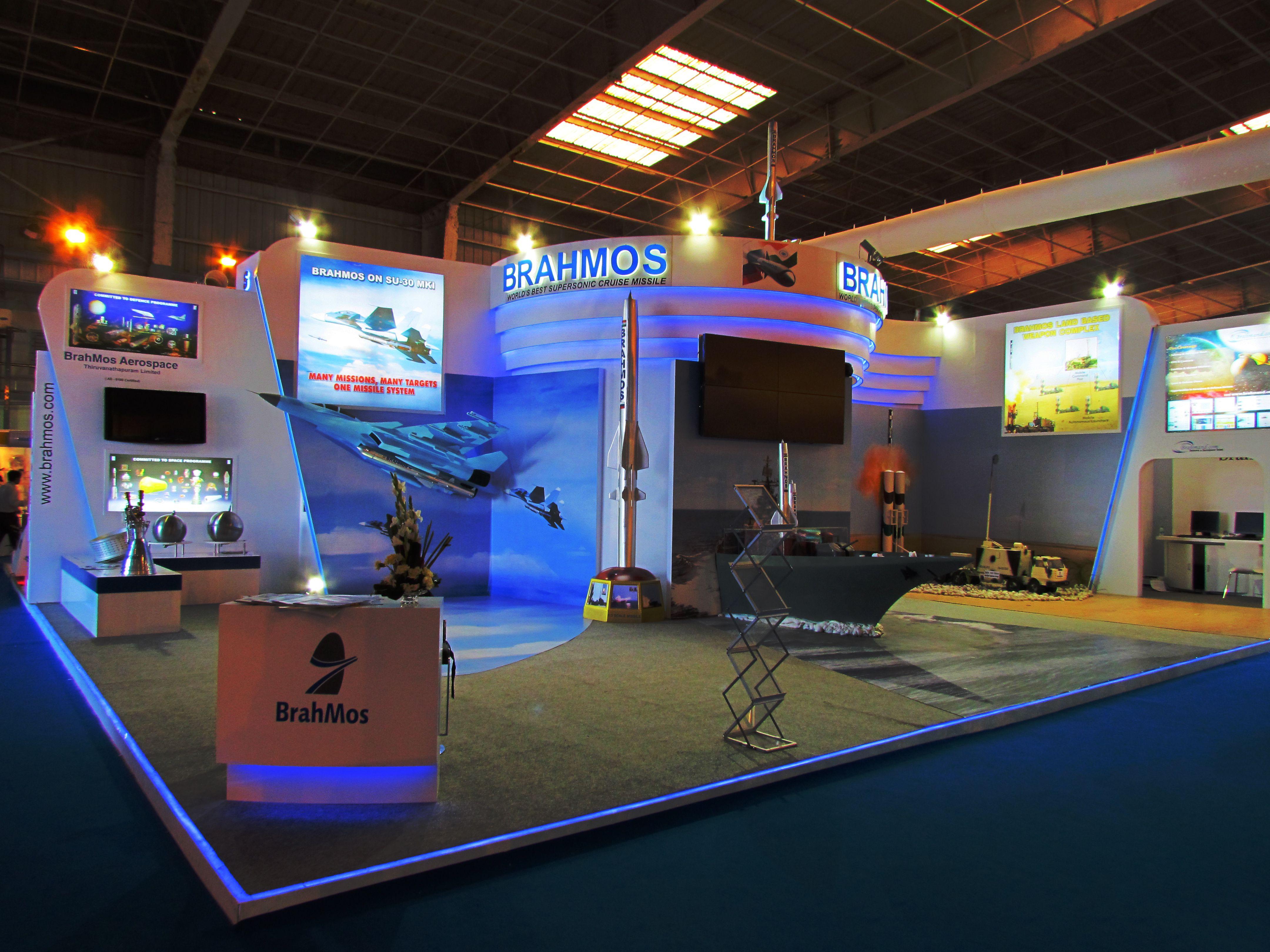 Insta Exhibition Stall Pvt Ltd : Aero india bangalore brahmos