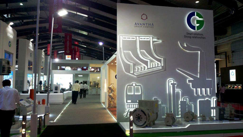 Insta Exhibition Stall Pvt Ltd : Cg elecrama