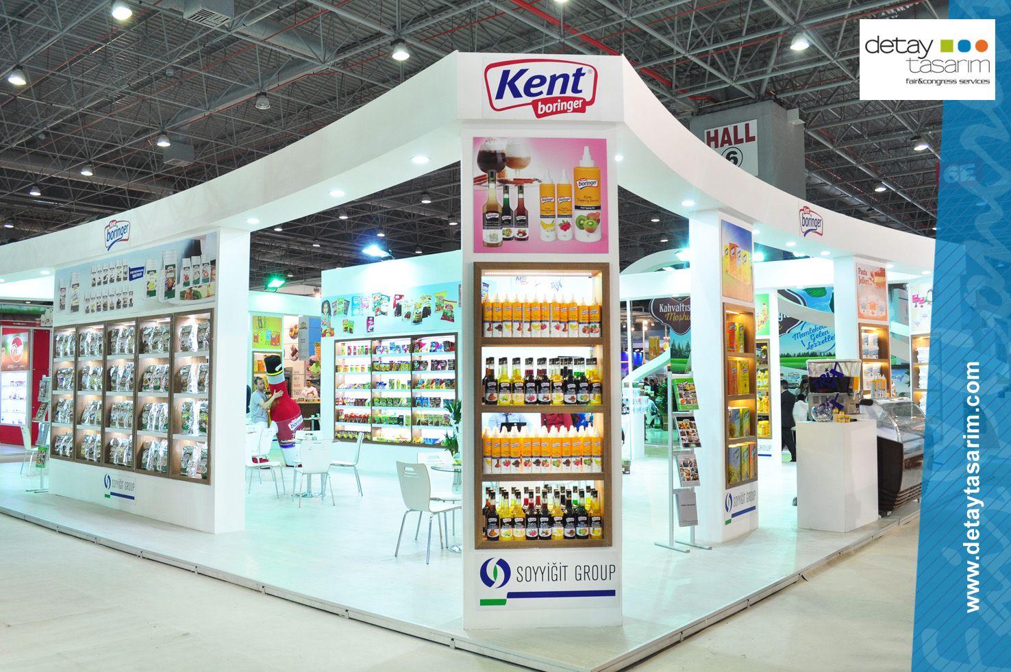 Exhibition Stand Builders Kent : Kent boringer stand by detya tasarım