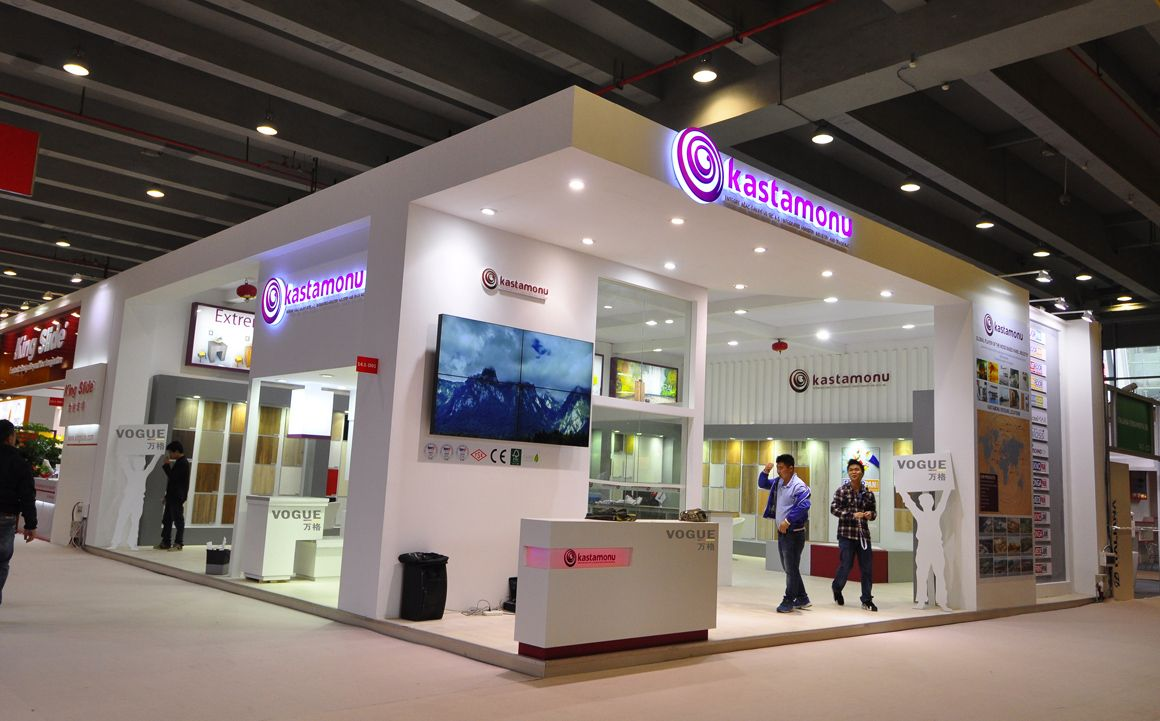 D Exhibition Layout : Guangzhou international furniture fair
