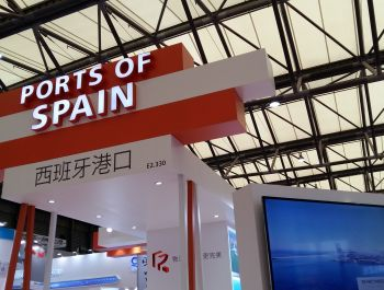 Stand builder to Ports of Spain @ transport logistic China 2016