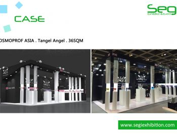 SEGI designed and built the stand for TANGLEANGEL in COSMOPROF ASIA.