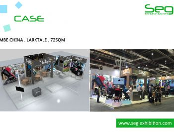 SEGI designed and built the stand for LARKTALE in CBME CHINA 2016
