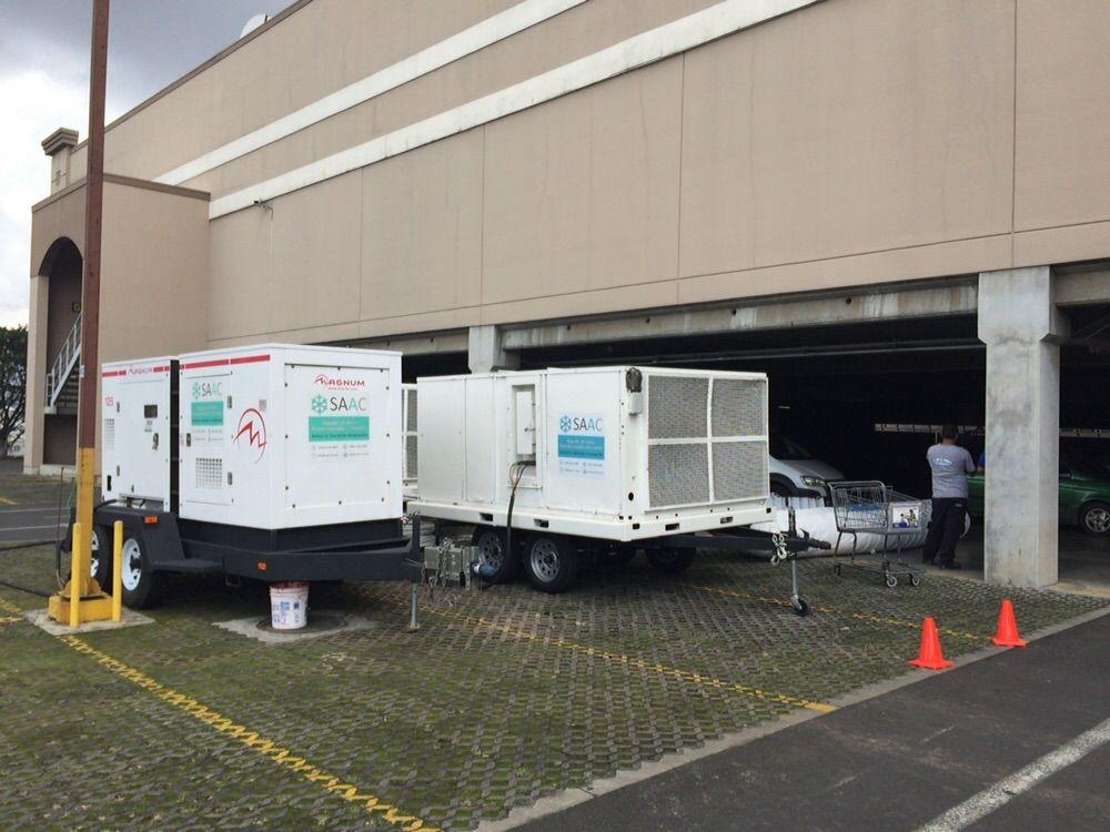 Saac alquiler de equipo aire acondicionado temporal for Alquiler de equipos de aire acondicionado
