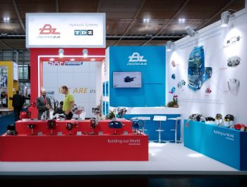 Grupo ALC designs and builds the stand project of the exhibitor Bezares at IAA Commercial Vehicles fair, Hannover