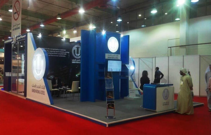Exhibition Stand Production : Exhibition stand production fit out company in kuwait
