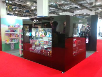 Ingegno s.r.l. for APPLE BEAUTY stand TFWA Asia Pacific 2016 @ Singapore