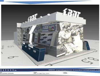 Ingegno s.r.l. for Beretta Defense Technology BDT Group stand SOFEX 2016 @ Amman, Giordania