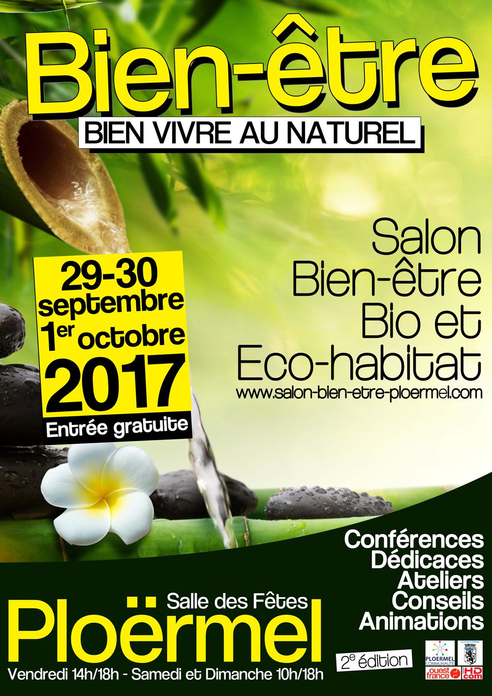 Salon bien tre bio et eco habitat plo rmel 2017 - Salon bio et bien etre ...
