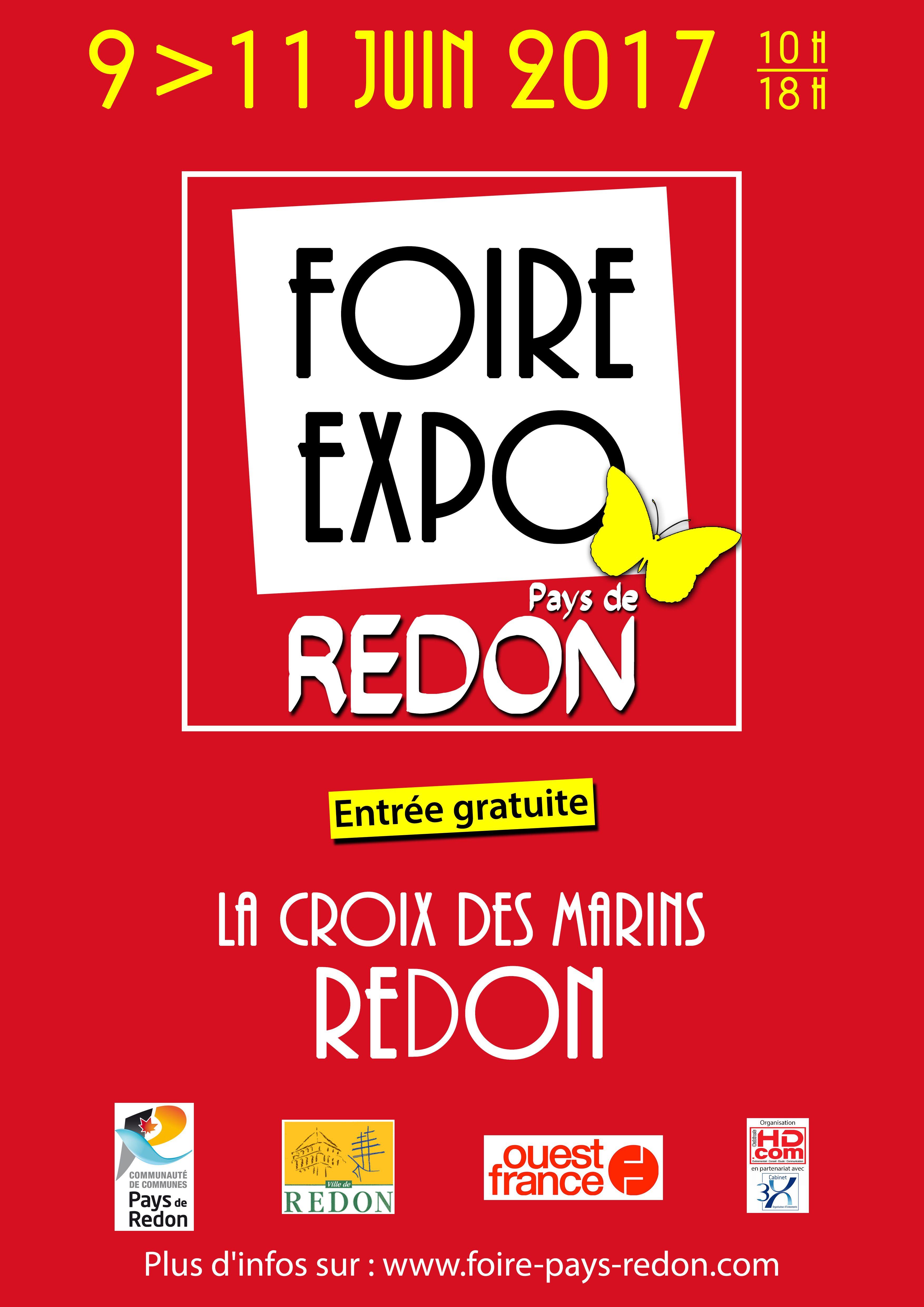 Foire expo pays de redon 2017 for Foire expo niort 2017