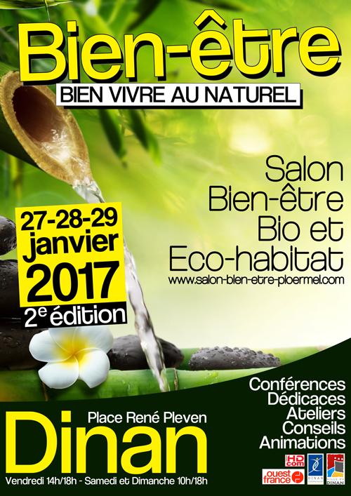 Salon bien tre bio et eco habitat dinan 2018 for Salon bien etre rennes