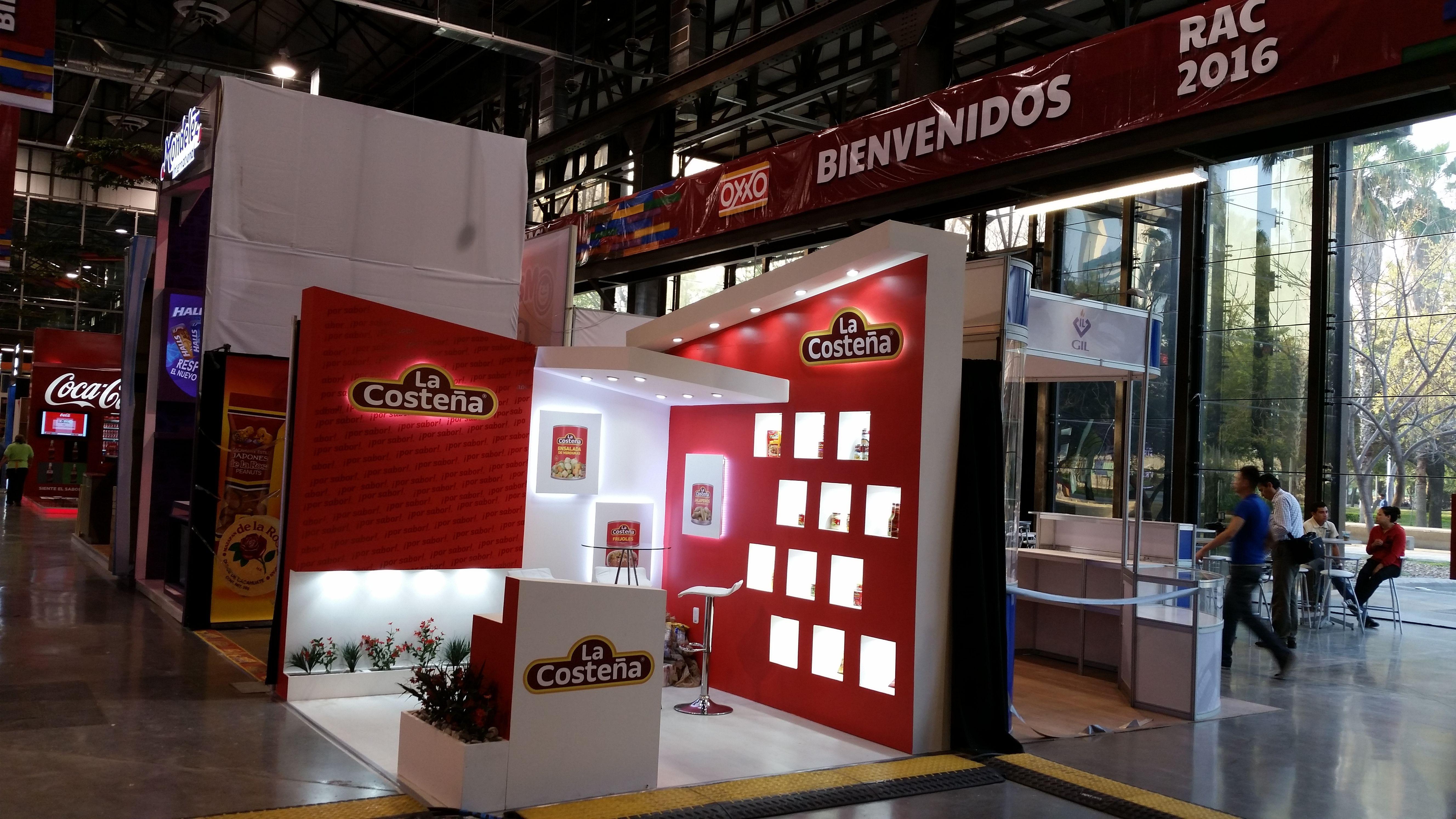 Expo Stands Monterrey : Diseño y producción de stand en expo oxxo