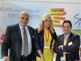Amazing Hostess Alicia at Gulfood 2016