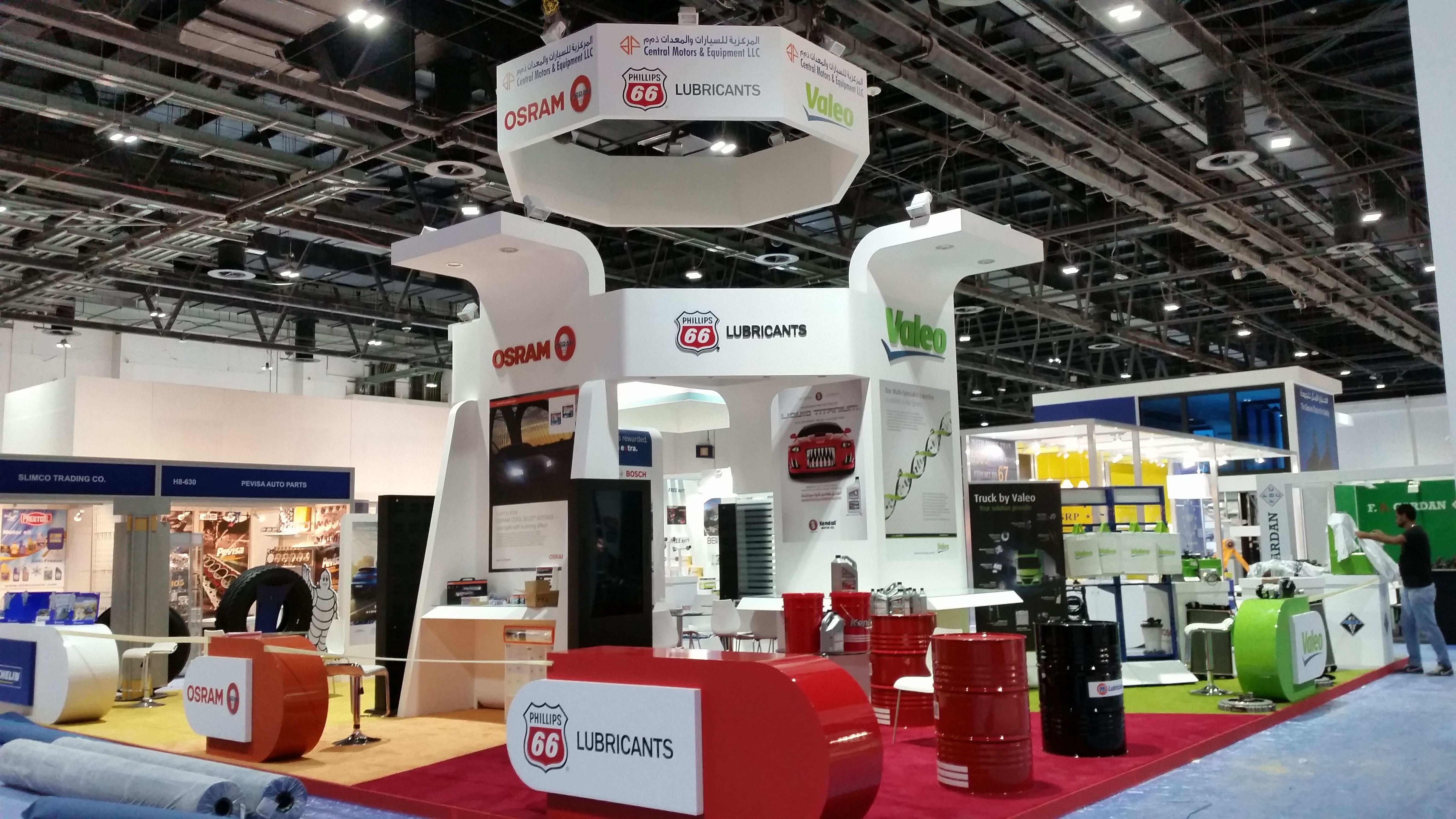 Dreamz Unlimited Llc Exhibition Stand Builders : Cheers exhibition services