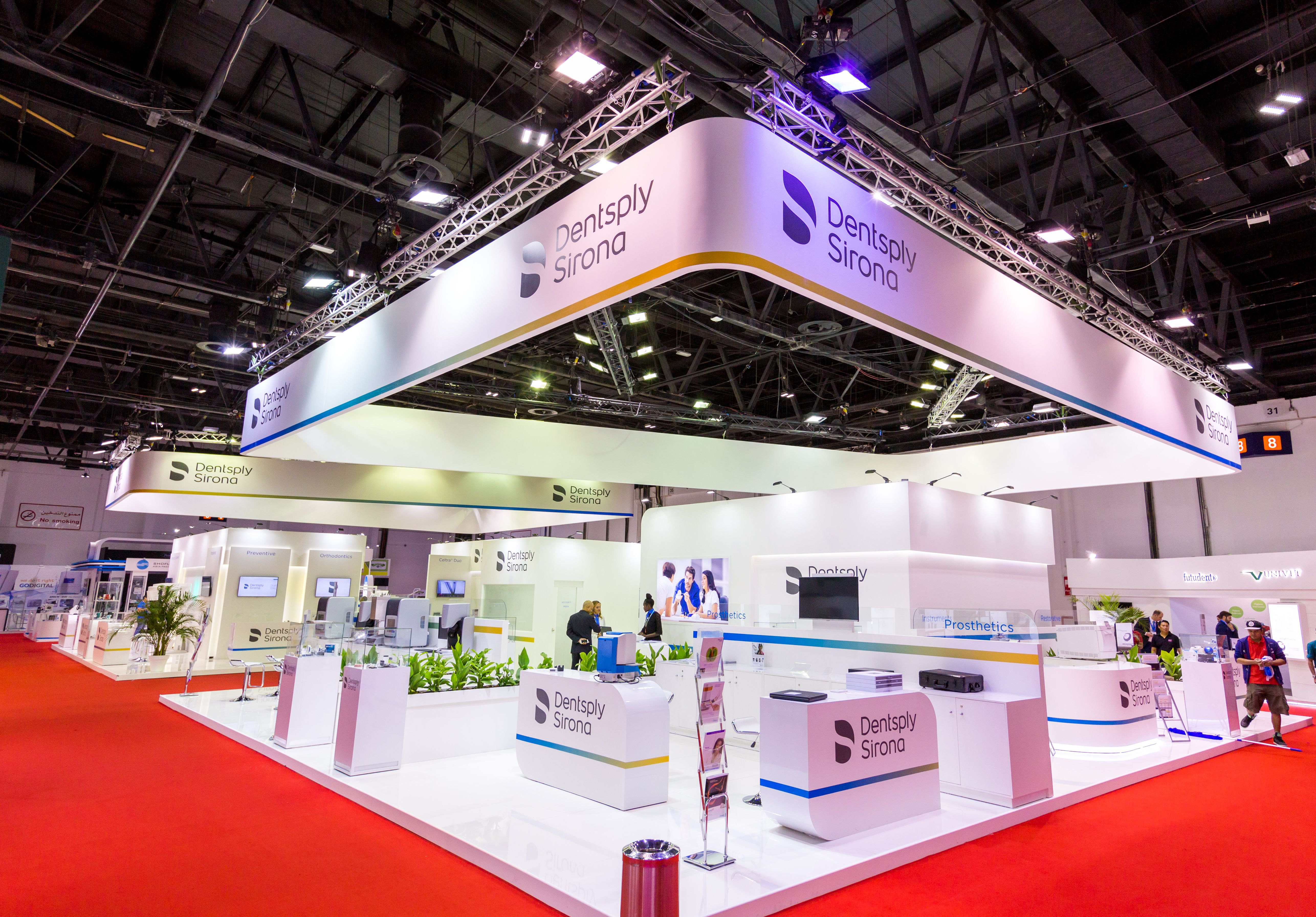 Exhibition Stand Management : Photo of stands r e d international exhibition