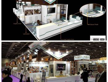 Korean Pavilion @ IFE, London 2017
