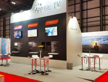 Appear TV @ TV Connect, London 2017