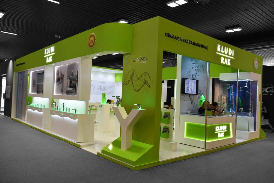 What Does Expo Stands For : Kludi rack exhibition stand