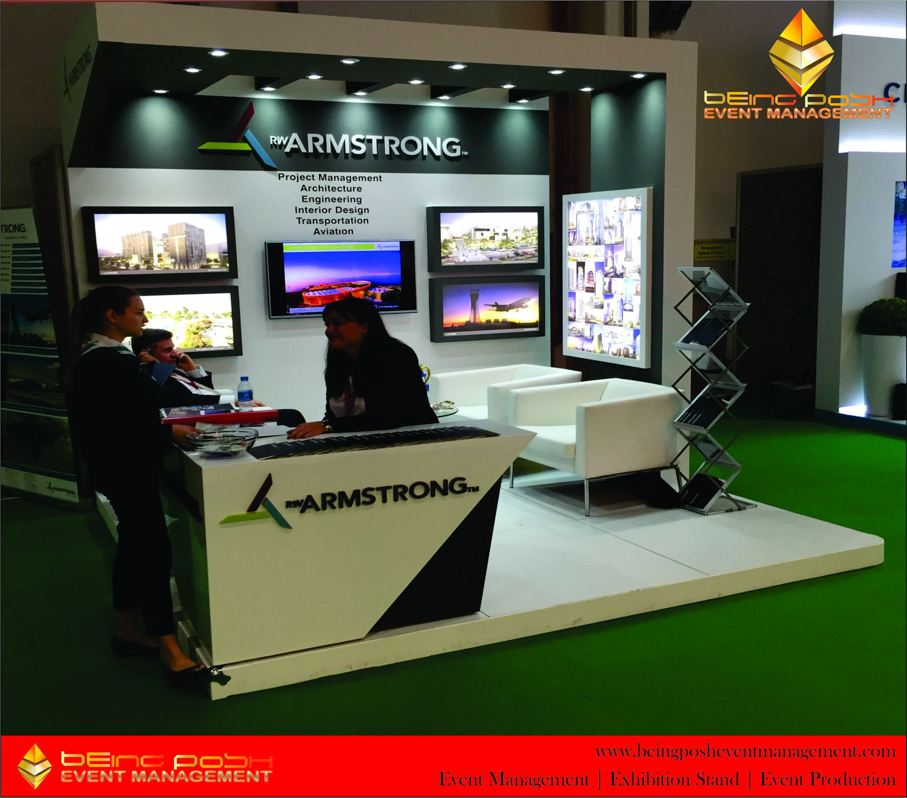 Exhibition Stand Management : City scape abu dhabi middle east exhibition stand by