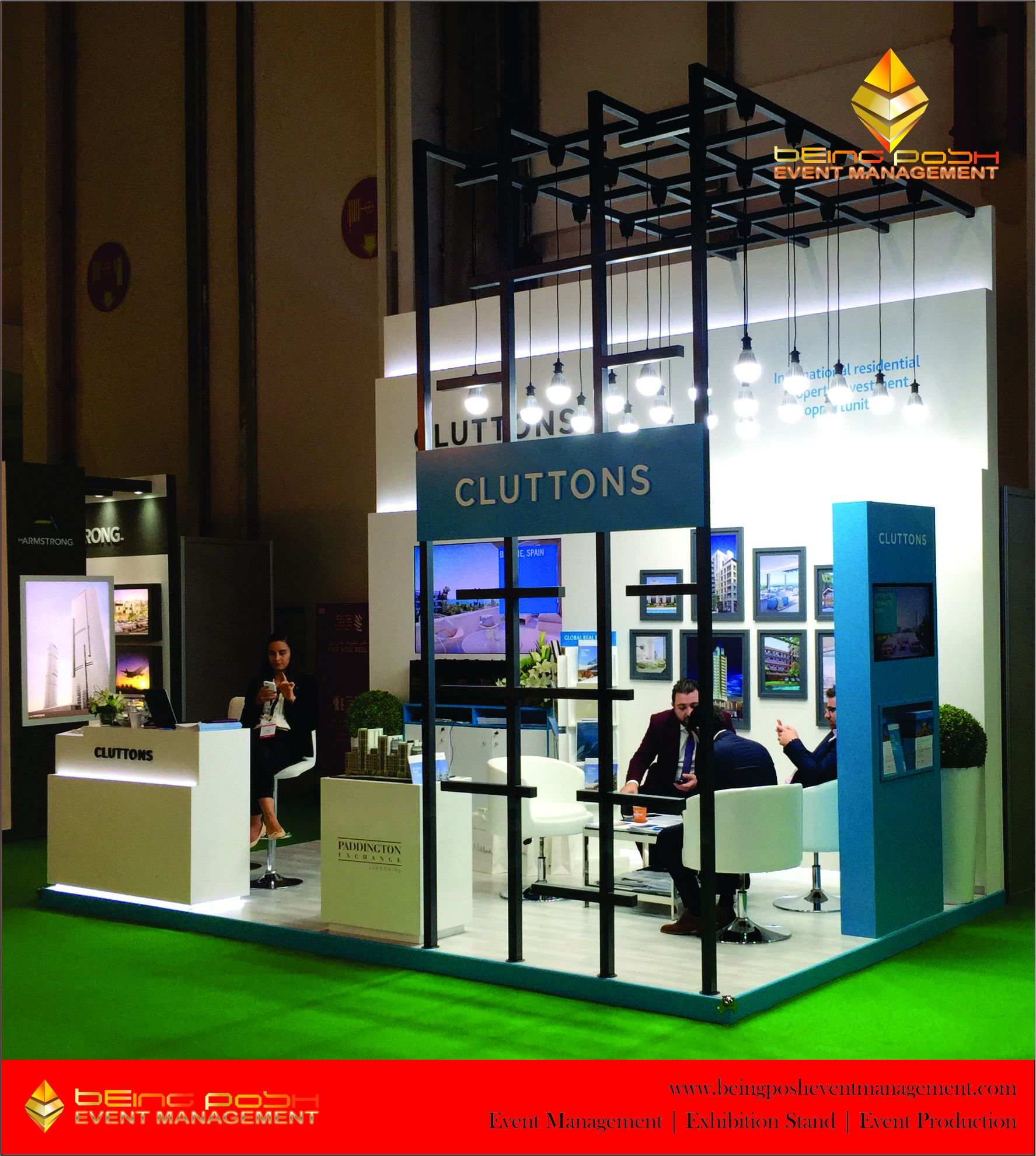 Exhibition Stand Abu Dhabi : City scape abu dhabi middle east exhibition stand by