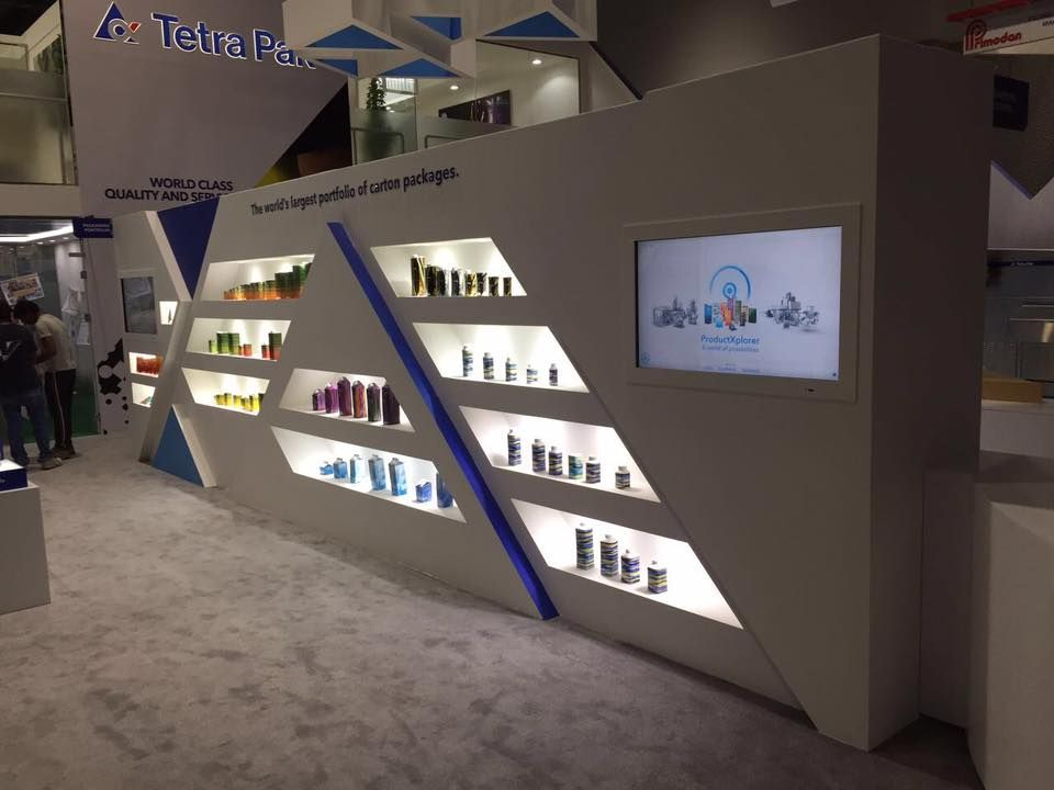 Exhibition Stand Design Companies In Dubai : Tetra pak arabia stand gulf food manufacturing