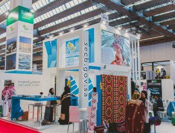 Saudi Exhibition & Convention Bureau @ Imex, Frankfurt 2017