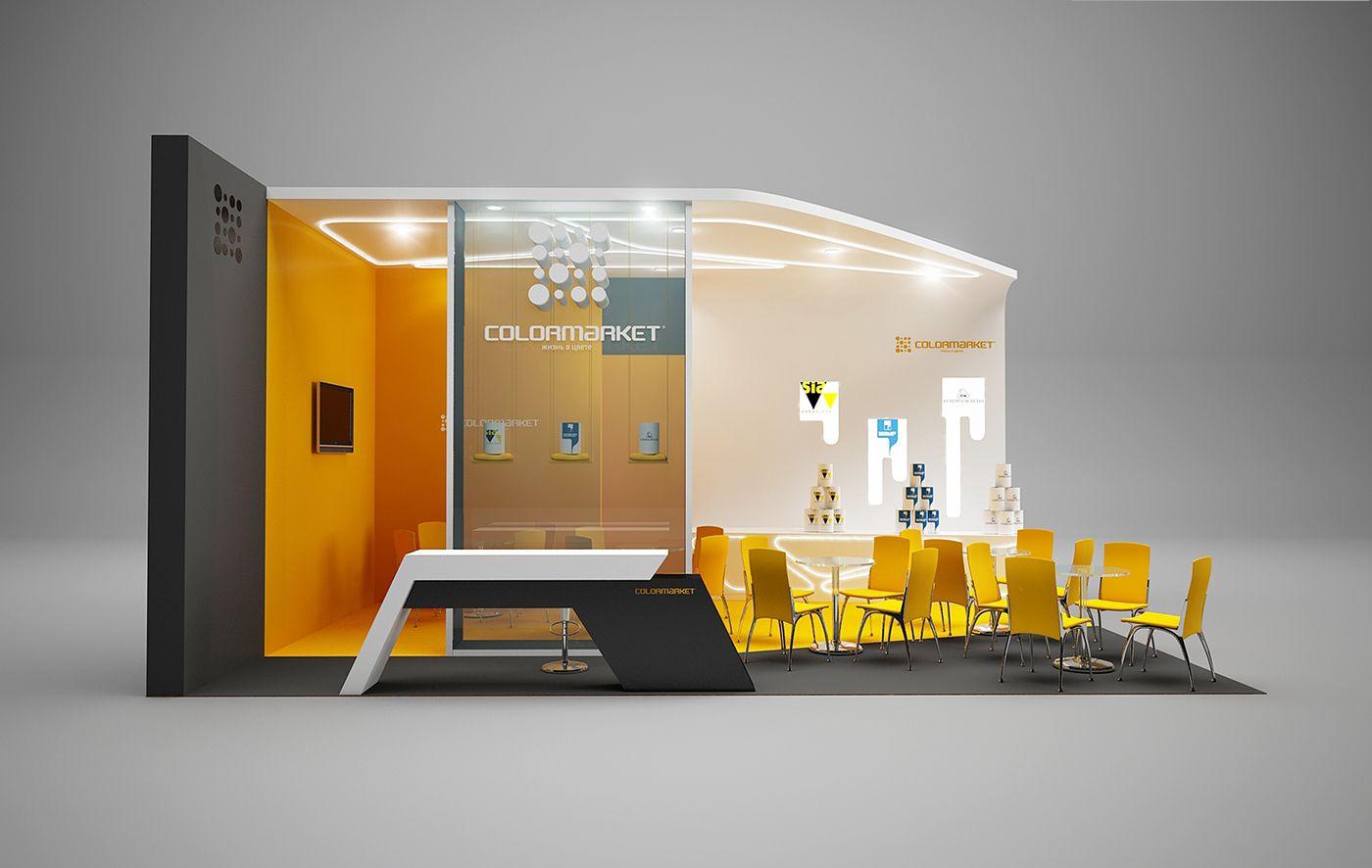 Gm Exhibition Stand Design : Gm stand design