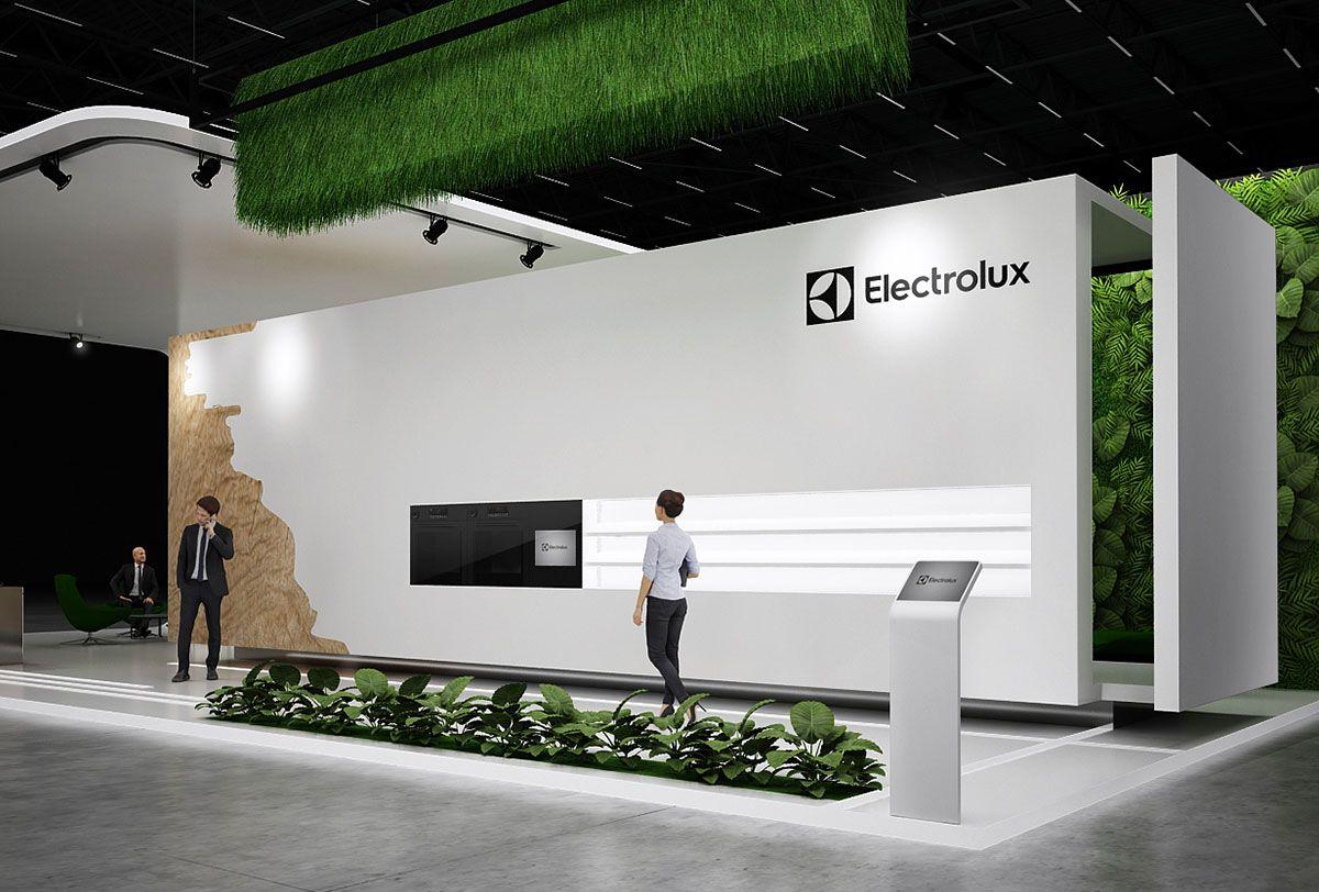 N Stand Exhibition Design : Electrolux exhibition stand design