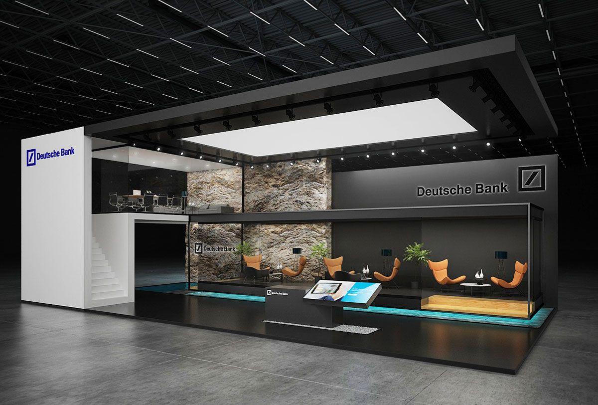D Exhibition Designer Job In : Deutsche bank exhibition stand design