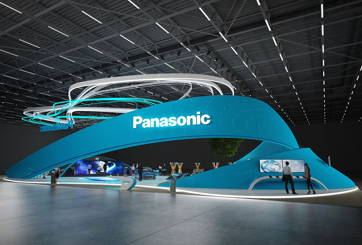 Exhibition Stand Design Panasonic
